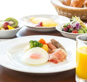 ハウステンボス ホテルオークラJRの魅力、豪華な朝食