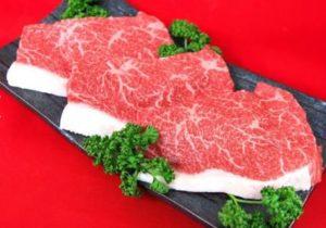 登米産仙台黒毛和牛いちぼステーキ 500g
