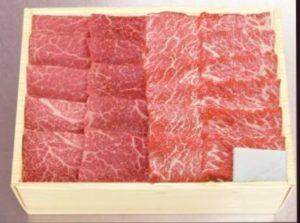 米沢牛カルビ・赤身焼肉盛り合わせ計600g