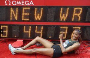 2018年 ベアトリス・チェプコエチ(ケニア)8分44秒32 モナコ