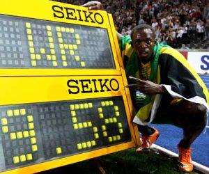 2009年 ウサイン・ボルト(ジャマイカ)9秒58 ベルリン(ドイツ)