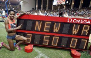 2015年 ゲンゼベ・ディババ(エチオピア)3分50秒07 モナコ