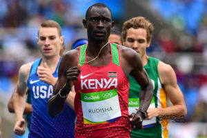 2012年 デイヴィッド・レクタ・ルディシャ(ケニア)1分40秒91 ロンドン(イギリス)