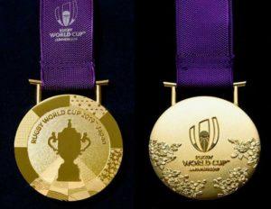 ラグビーワールドカップ2019日本大会の金メダル公表
