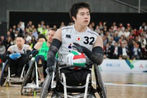 車いすラグビー ワールドチャレンジ2019 橋本勝也選手