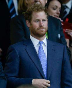 英ヘンリー王子が訪日、ラグビーW杯決勝観戦