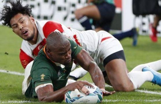 日本が負けた準々決勝南アフリカの防御は素晴らしかった