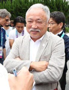 日本ラグビーフットボール協会会長・森 重隆