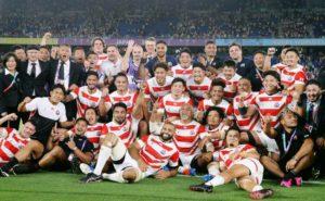 1次リーグ A組 日本 勝ち点19 28-21 勝ち点11 スコットランド