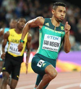 陸上400mのリオデジャネイロ五輪王者、ウェード・ファンニーケルク