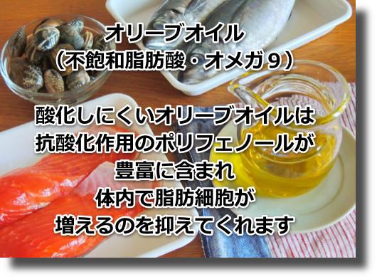 オリーブオイル、魚の油は日本人が積極的に摂ることが必要な油